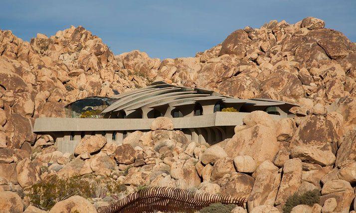 The Desert House: το μεγαλείο της οργανικής αρχιτεκτονικής