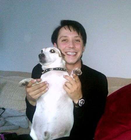 Binky's Johnny Weir Blog Archive: Puppies, Kids, and a Box of Rainbows
