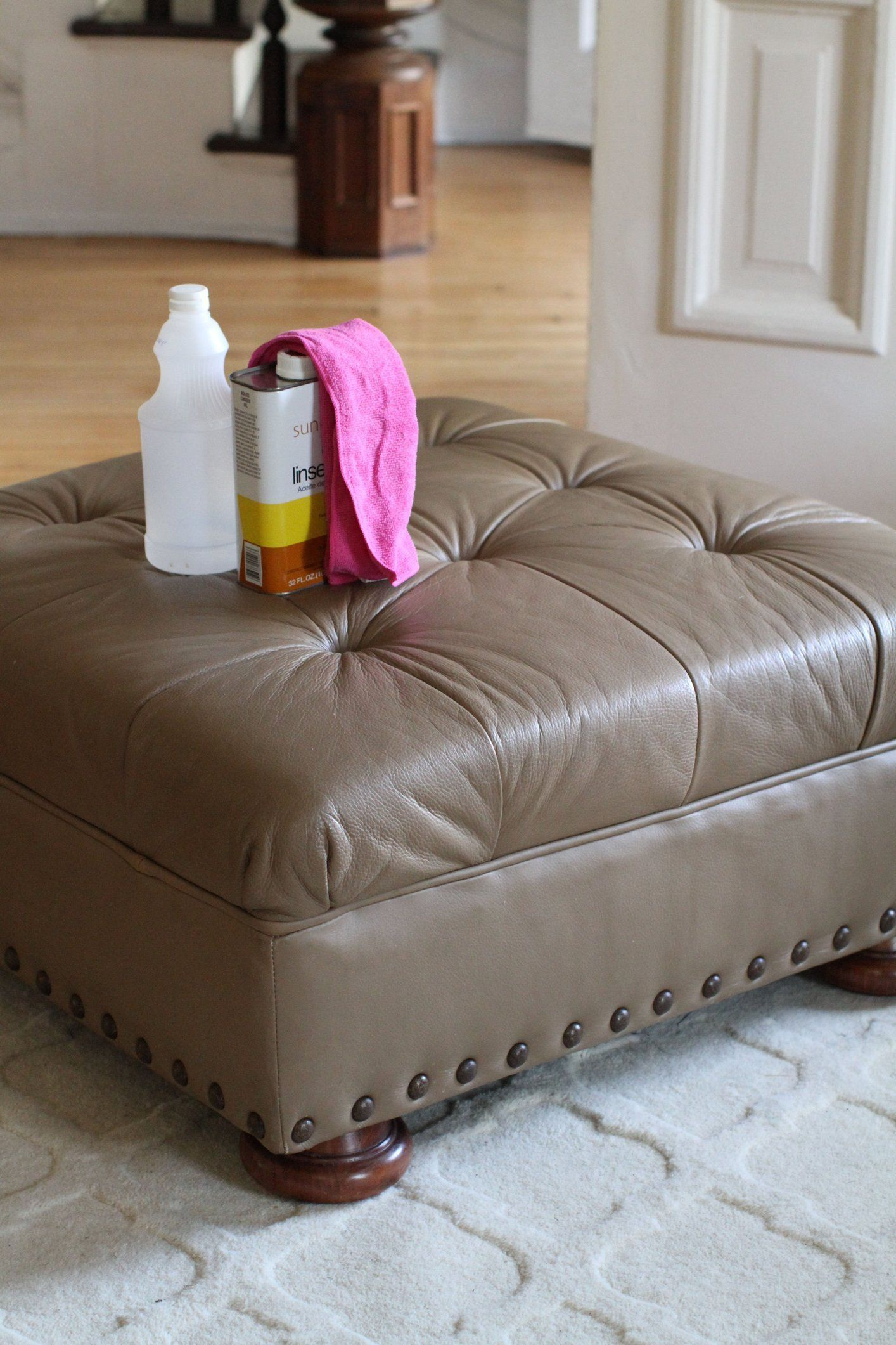 Can You Clean White Leather Sofas Black Reclining How To Condition Furniture Conditioner