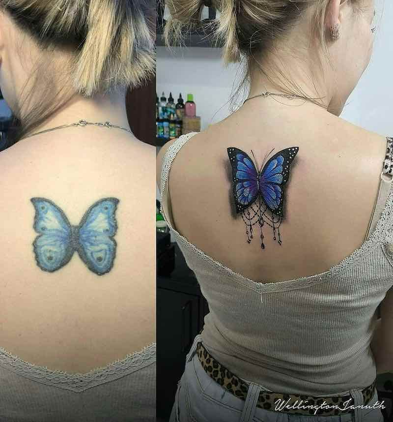 Butterfly Tattoos Butterfly Tattoo Cover Up Butterfly Tattoos