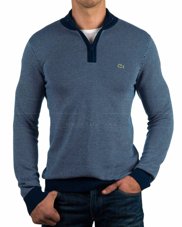 552938e9b900 Jersey Lacoste ® para Hombre - Cuello Perkins Cremallera | ENVIO GRATIS