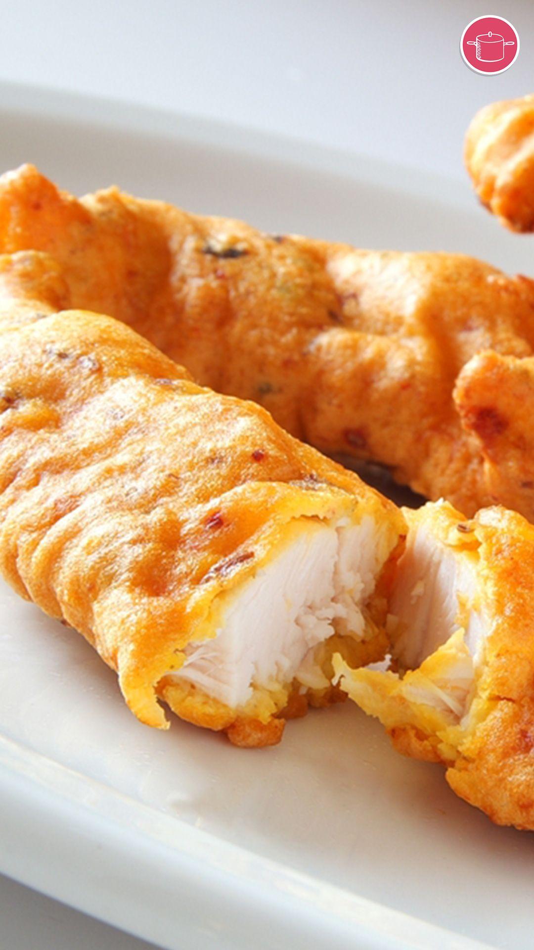 تمبورا الدجاج Recipe In 2021 Recipes