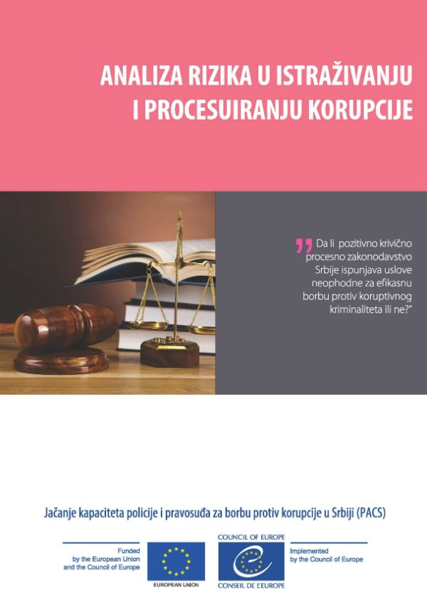 Risk Analysis On Corruption Investigation And Proceedings