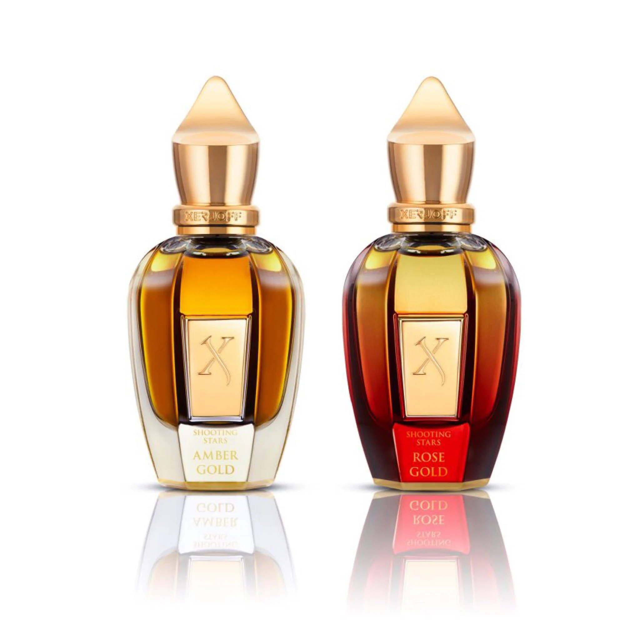 Shooting Stars Amber Gold Rose Gold By Xerjoff For Women In 2021 Perfume Gold Set Gift Sets For Women