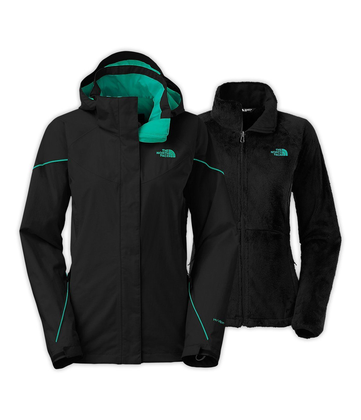 Amazon Com The North Face Boundary Triclimate Jacket Women S Sports Outdoors North Face Jacket Womens North Face Jacket Jackets For Women [ 1396 x 1200 Pixel ]