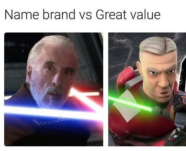 Rebels Is Off Brand Low Quality Clone Wars Star Wars Rebels Star Wars Memes Sith Empire