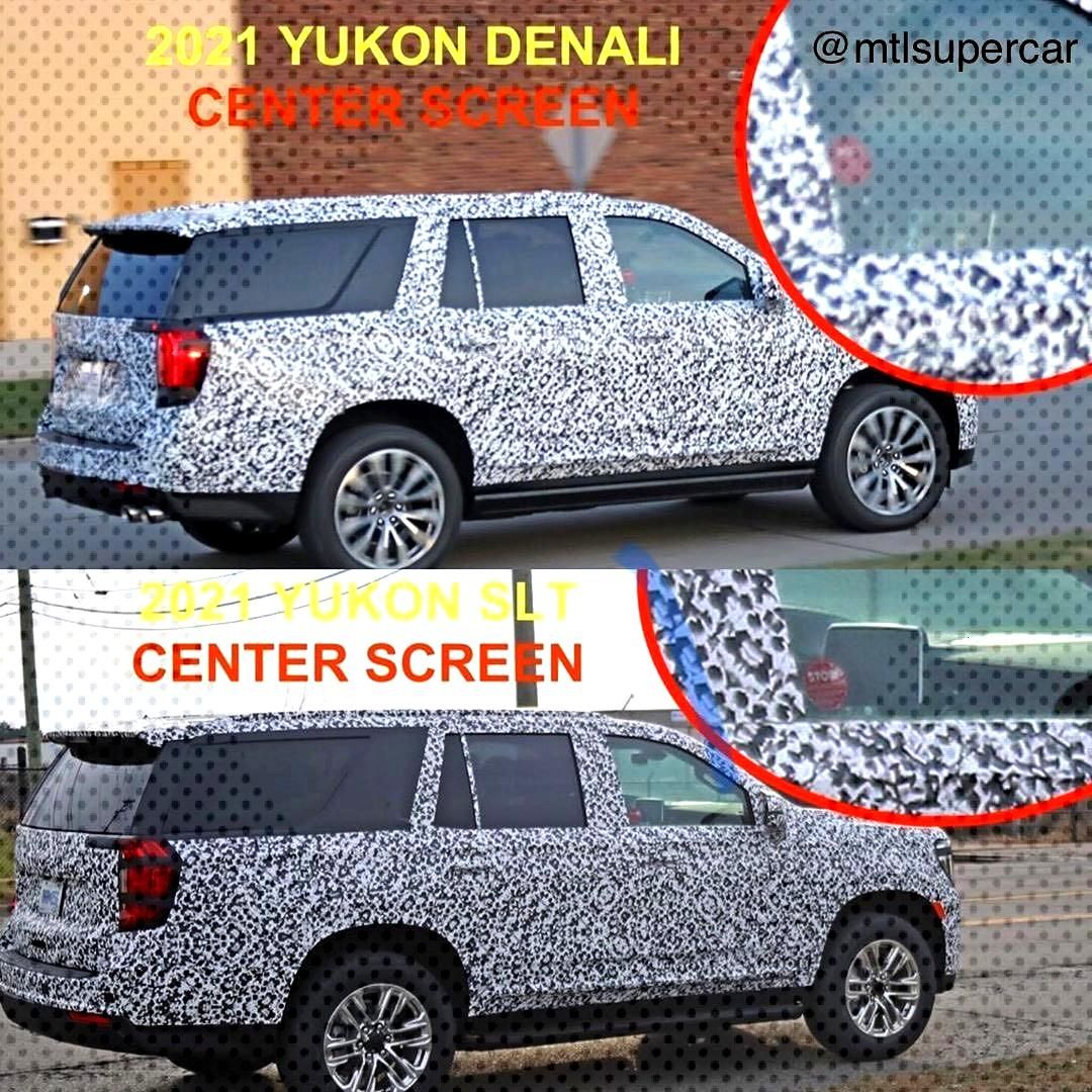 A sneak peek on the 2020 GMC Yukon According to the news, Yokun has a more luxury interior than th