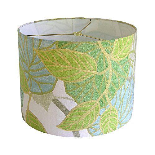 Custom Lamp Shade Tropical Lampshade Tropic Scene Lampshades Capri Lamp  Shade Table Lampshades Bedroom Lamp Shades