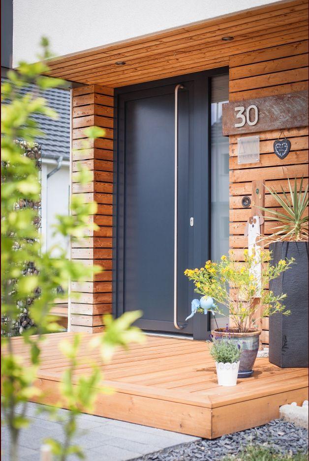 Aménagements extérieures Entrée maison Pinterest - amenager une entree de maison