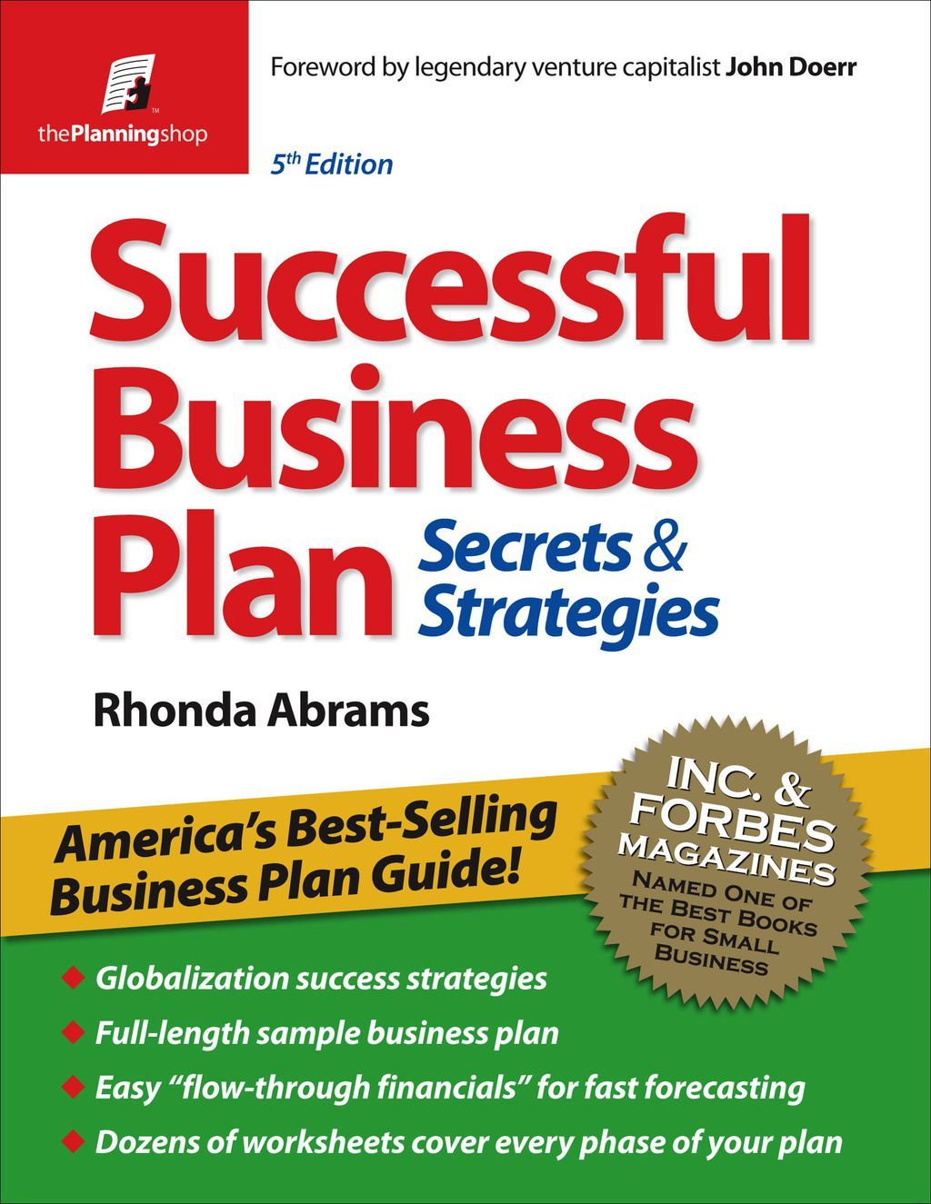 Successful Business Plan Secrets & Strategies (eBook