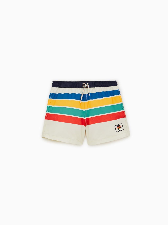 4c9591e2 Image 1 of STRIPED SWIM SHORTS from Zara Swimsuits, Swimwear, Kids Boys,  Zara