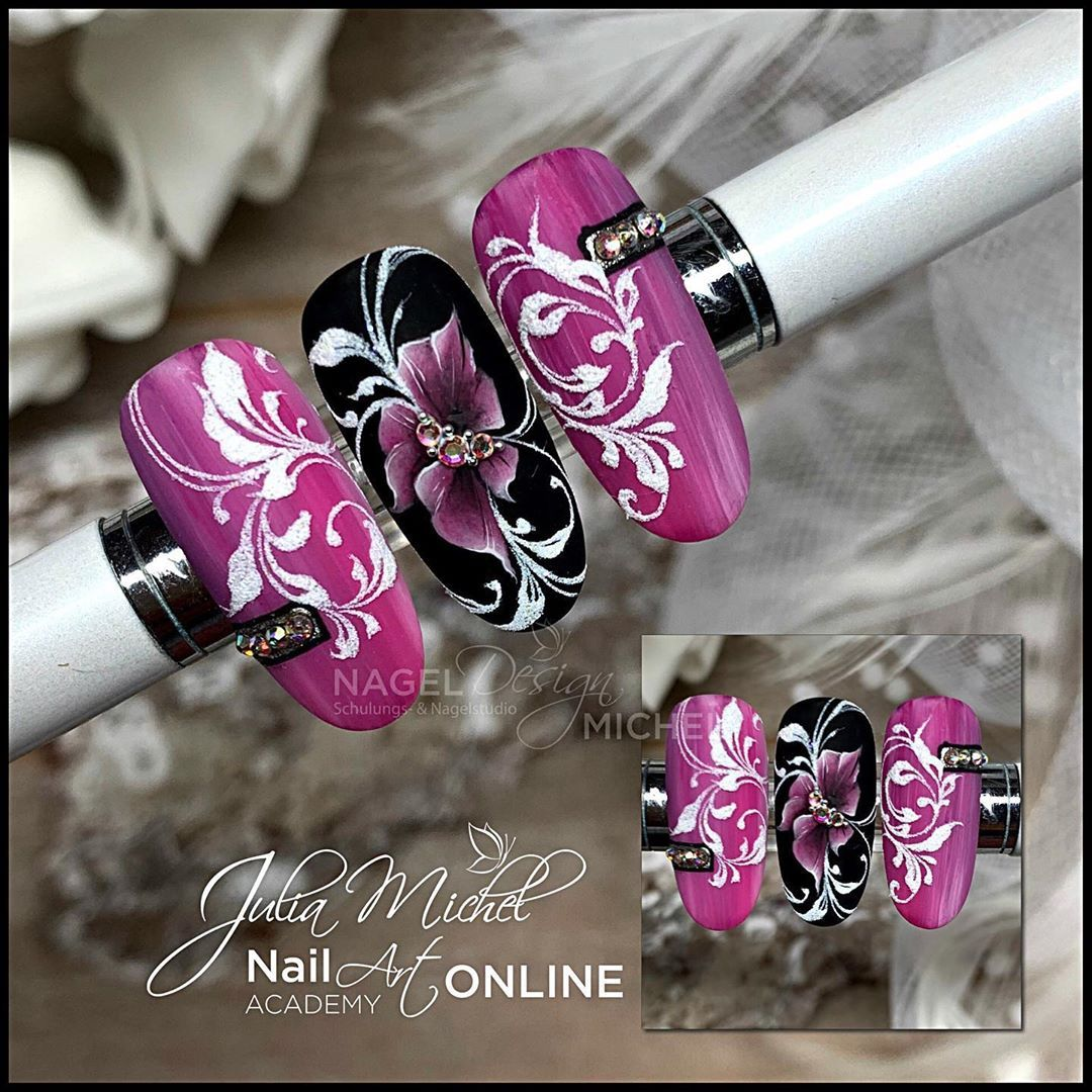 Nageldesign Michel V Instagram Nail Nails Gelnails Blumen