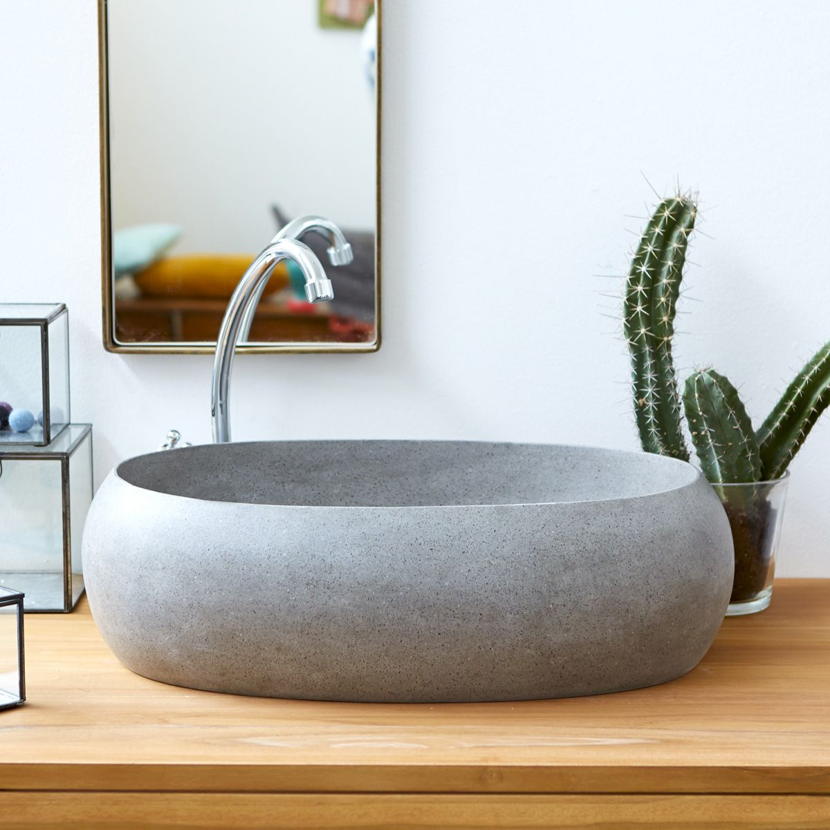 Waschbecken Terrazzo Orion 55 Grau Bathroom Pinterest Terrazzo