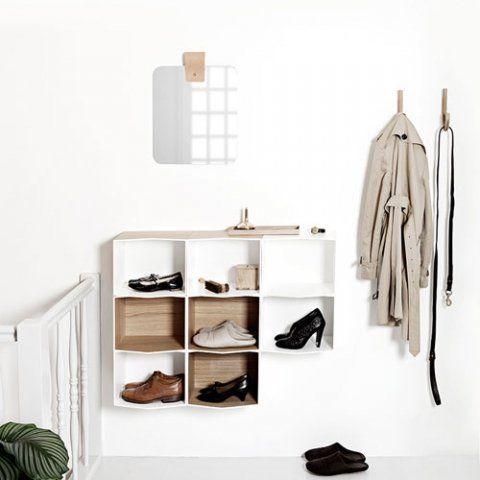 designdelicatessen - Munk Collective - Flip Bookshelf - Boghylde - Hvid - Munk Collective