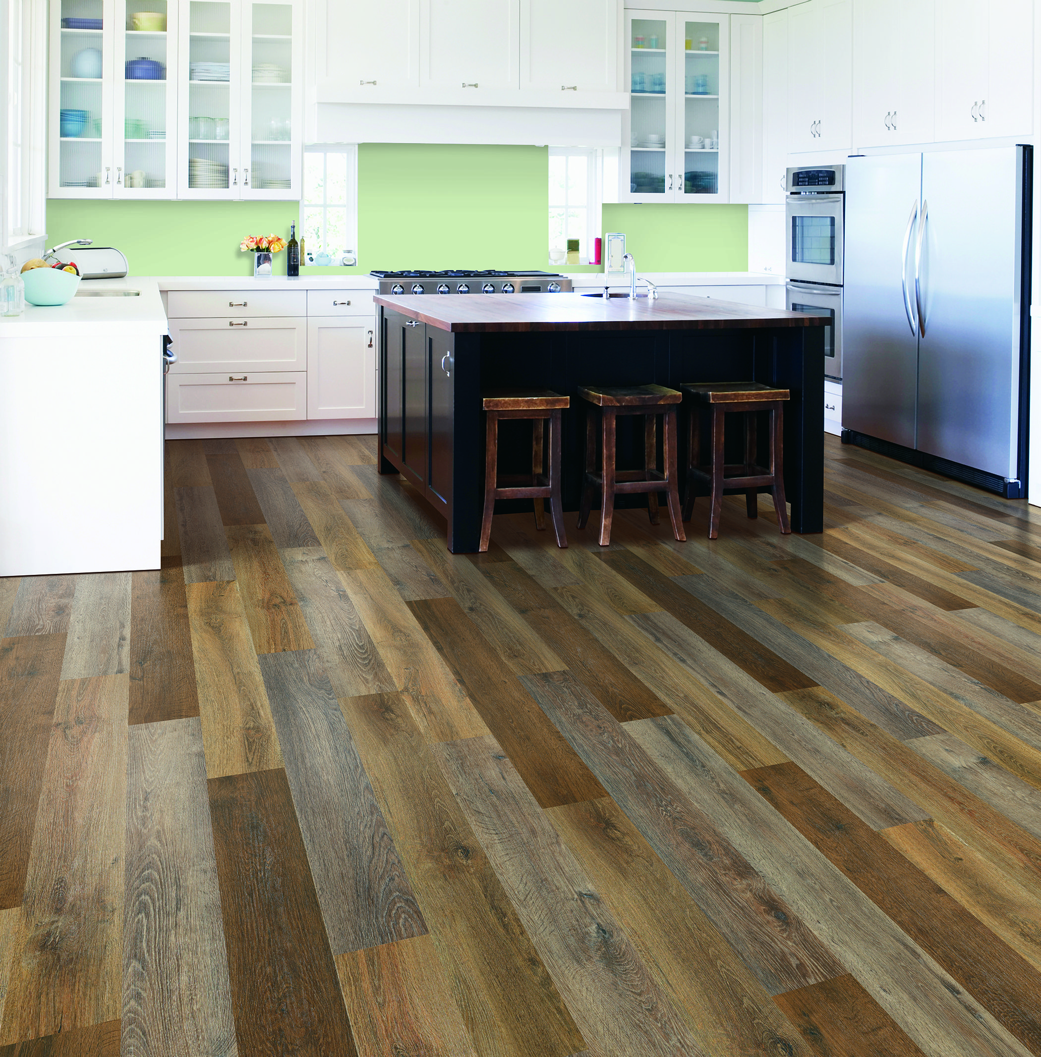 Latest Flooring: Mohawk New SolidTech Flooring Featuring Our Vershire