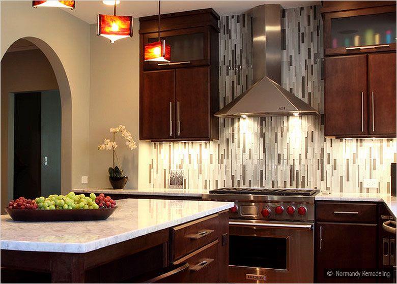 Modern Look Gray Amp White Color Glass Brick Backsplash Tile