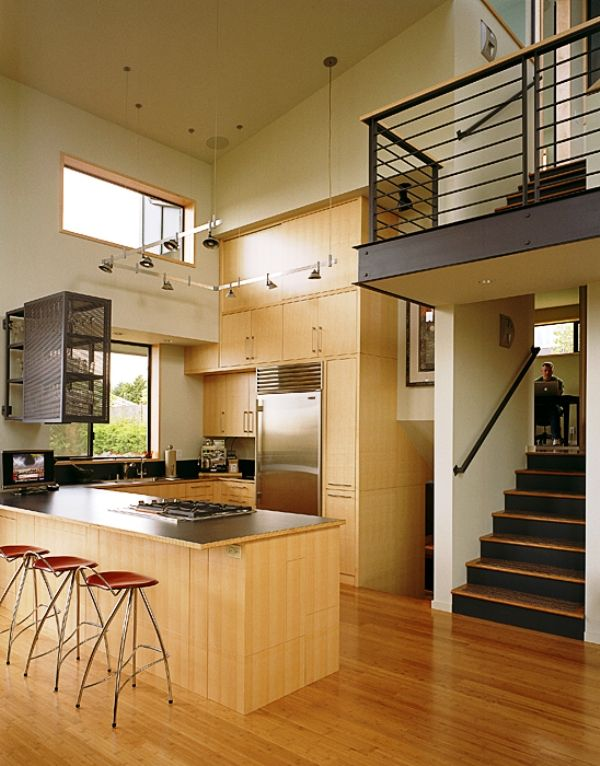 Love The Modern Railings On The Stair Landing