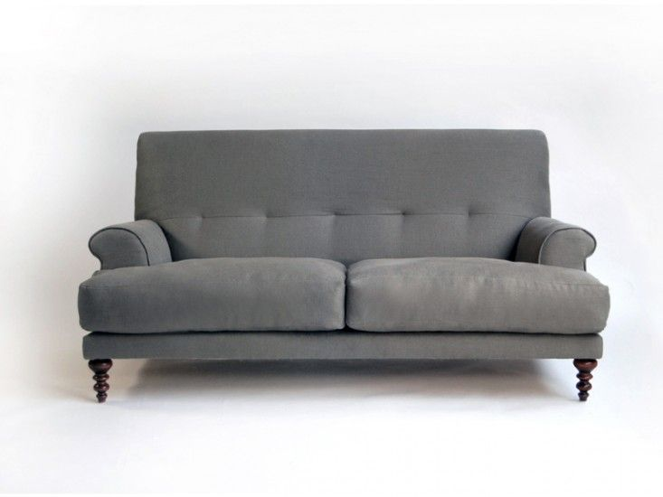 High Low Cushy English Style Sofa