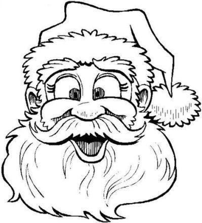 christmas coloring pages - santa | weihnachtsmalvorlagen, ausmalbilder, ausmalbilder zum