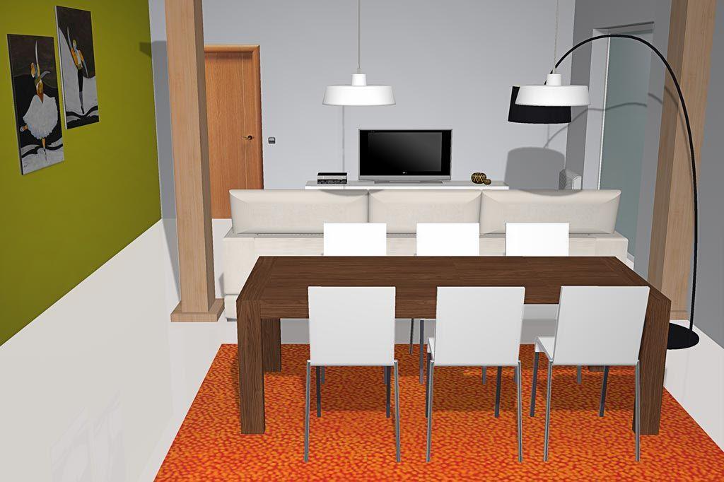 Los elementos importantes en la decoración es la alfombra ya que ...