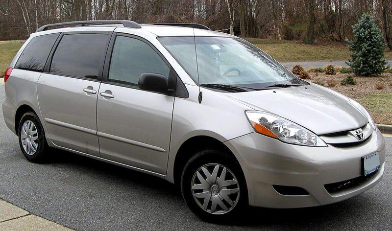 06 09 Toyota Sienna Wikipedia