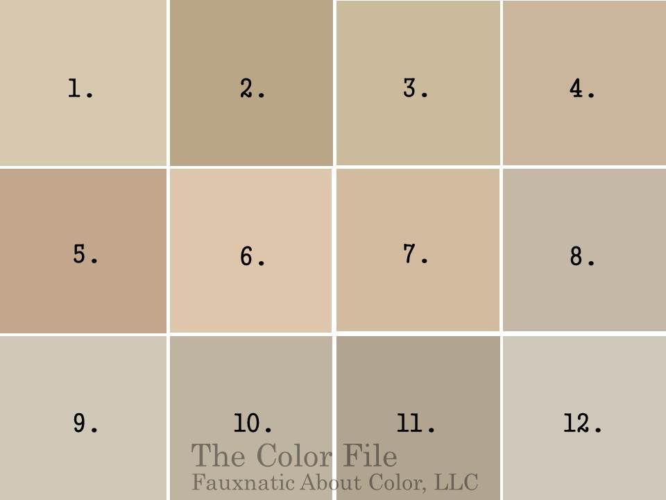 Designers Favorite Neutral Paint Colors for the home} 12 favorite neutral  paint colors  fauxnatic
