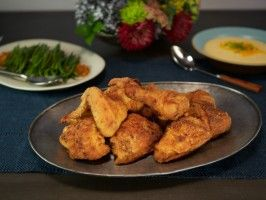 Justines moms fried chicken recipe fried chicken sunday justines moms fried chicken forumfinder Image collections