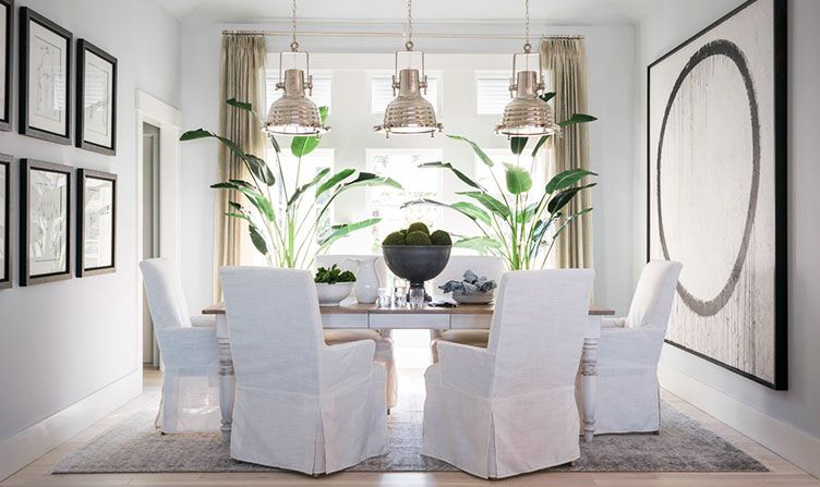hgtv dream home 2016 dining room glidden paint colors quiet rain swan white - Dining Room Paint Colors 2016