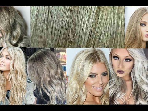 345 طريقة الرينساج احصلي على الاشقر الزيتي الرمادي الثلجي البلاتين بنفسك في المنزل بالارقام والخطوات Youtube Hair Styles Hair Long Hair Styles