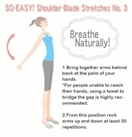 Shoulder stretch! #health #healthyliving #stretch #workout #exercise