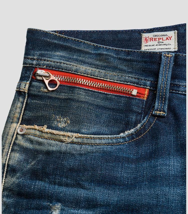 Replay Anbass Slim Mens Jeans Men