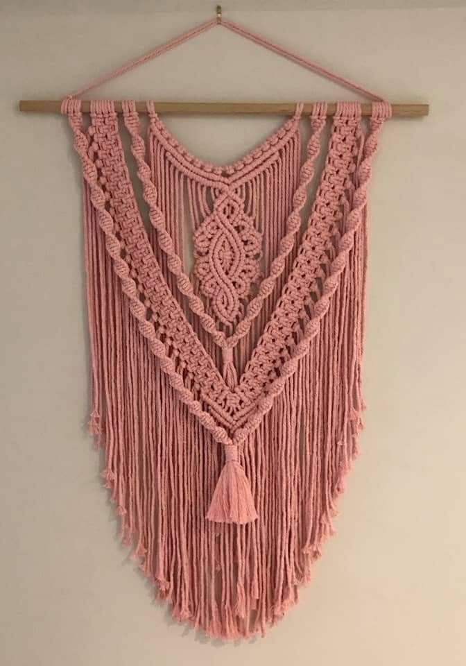 Macrame is a great way to add a boho vibe to your home decor.  You can DIY or pu...