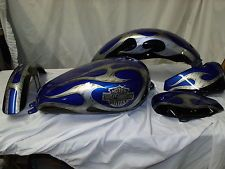 Custom motorcycle paint job for Harley Sportster, Dyna softail, your parts