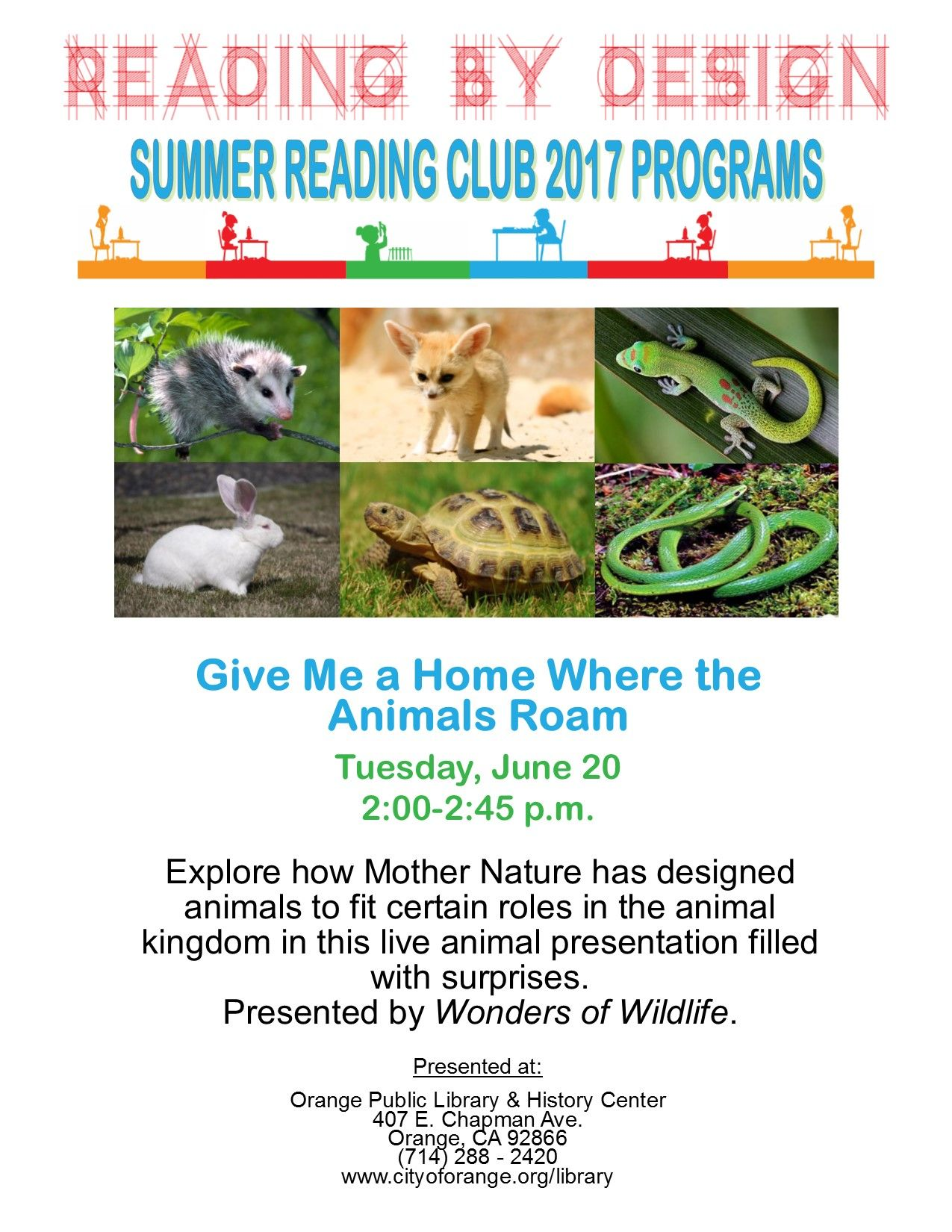 Pin By Orange Public Library History Center On Past Programs Live Animals Wildlife Animal Kingdom