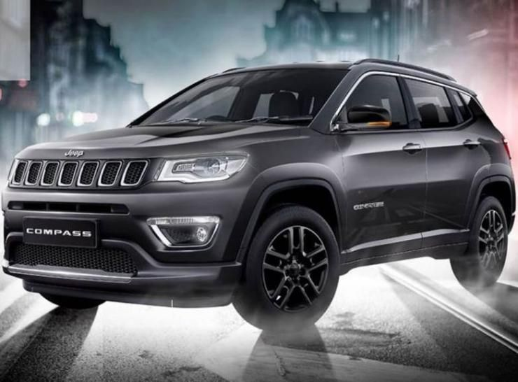 Jeep Compass Black Pack Edition launched in India Only Rs