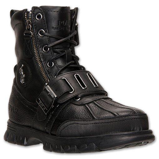 Men's Polo Ralph Lauren Andres III Boots - 27239001 BLK | Finish Line