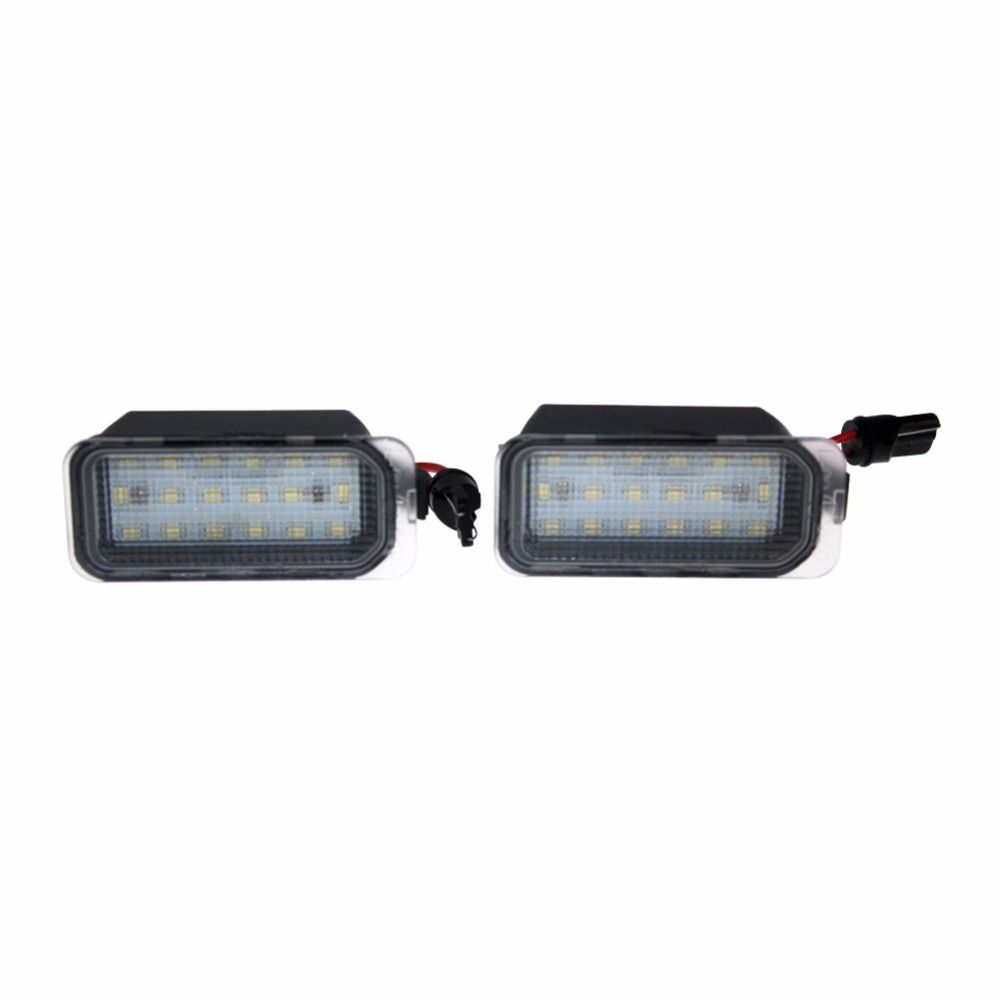 2 Car Styling Error Free Led Rear License Plate Light For Ford