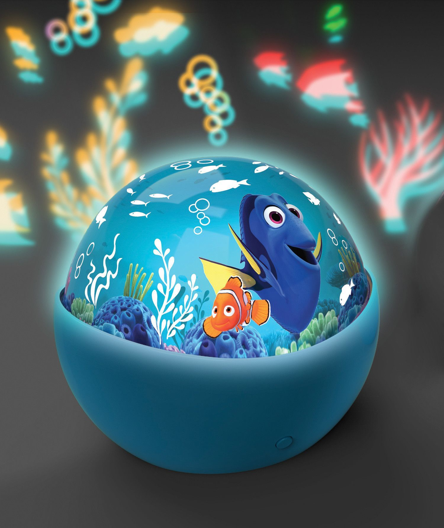 Finding dory undersea light projector dori party for Nemo light fish