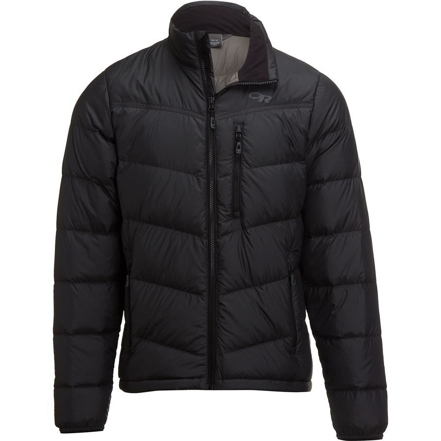 Outdoor Research Transcendent Down Jacket Men S Black Jackets Down Jacket Mens Jackets