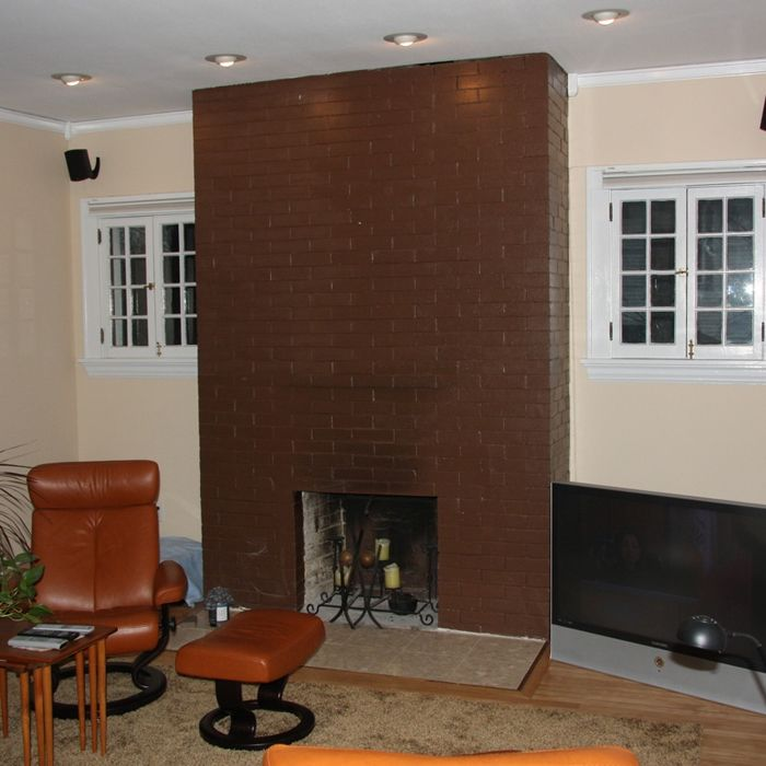 Modern Fireplace Makeover For the Home Pinterest