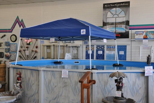 Floating Water Canopy and Doughboy pool | B Pool u0027s serving the valley since 1962 & Floating Water Canopy and Doughboy pool | B Pool u0027s serving the ...