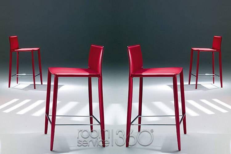 Linda bar or counter stool by bontempi casa furniture