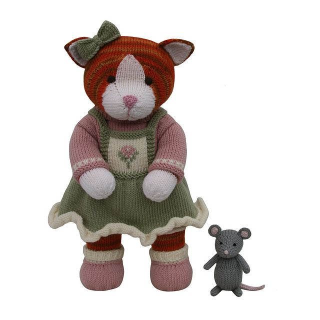 Mouse (Knit a Teddy) pattern by Sarah Gasson | Bibliotecas, Ravelry ...