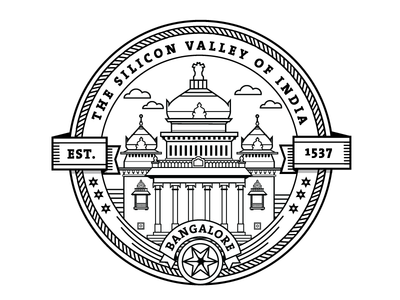 City Badges Graphic Design Blog Badge Pattern Art