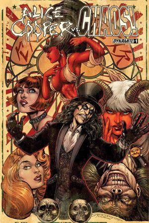 Alice Cooper Vs Chaos (2015) Issue #1