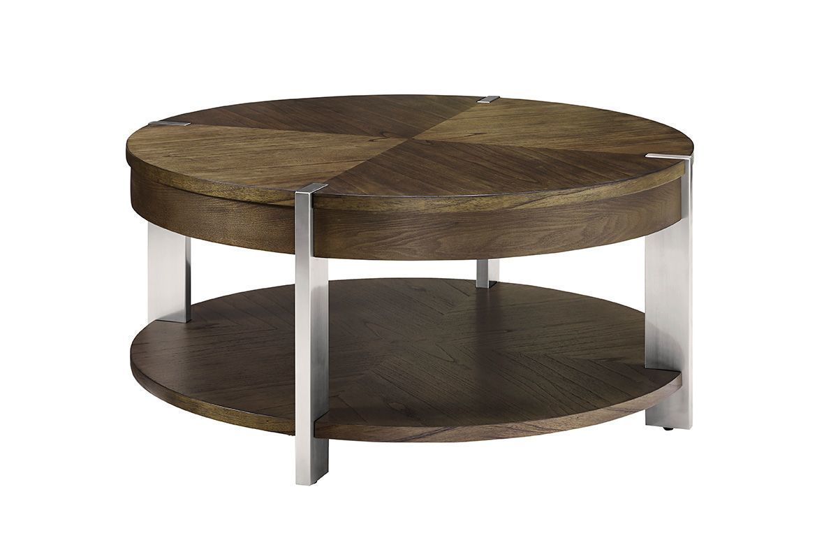 Contemporary Round Cocktail Table By Bauhaus At Gardner White Round Cocktail Tables Cocktail Tables Table [ 800 x 1200 Pixel ]