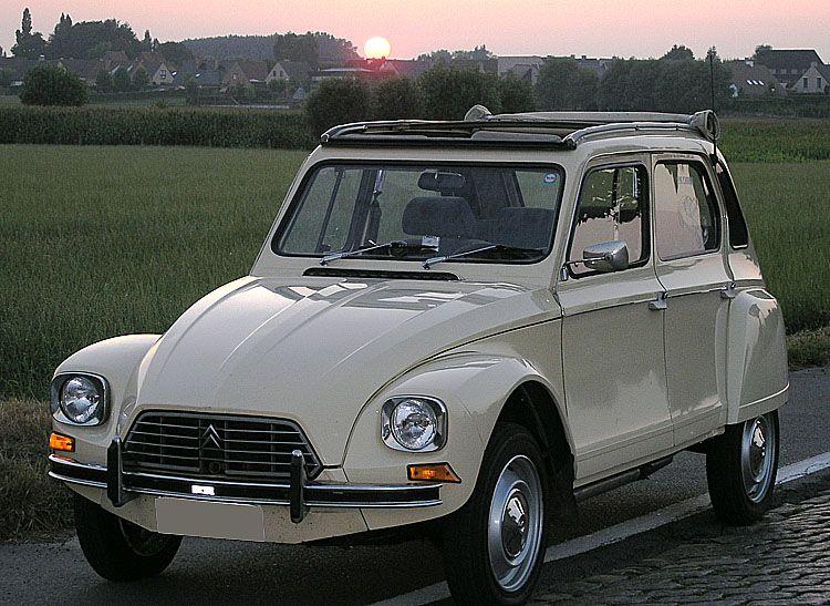 Citroen Dyane Klassieke Auto S Oude Auto S Eerste Auto