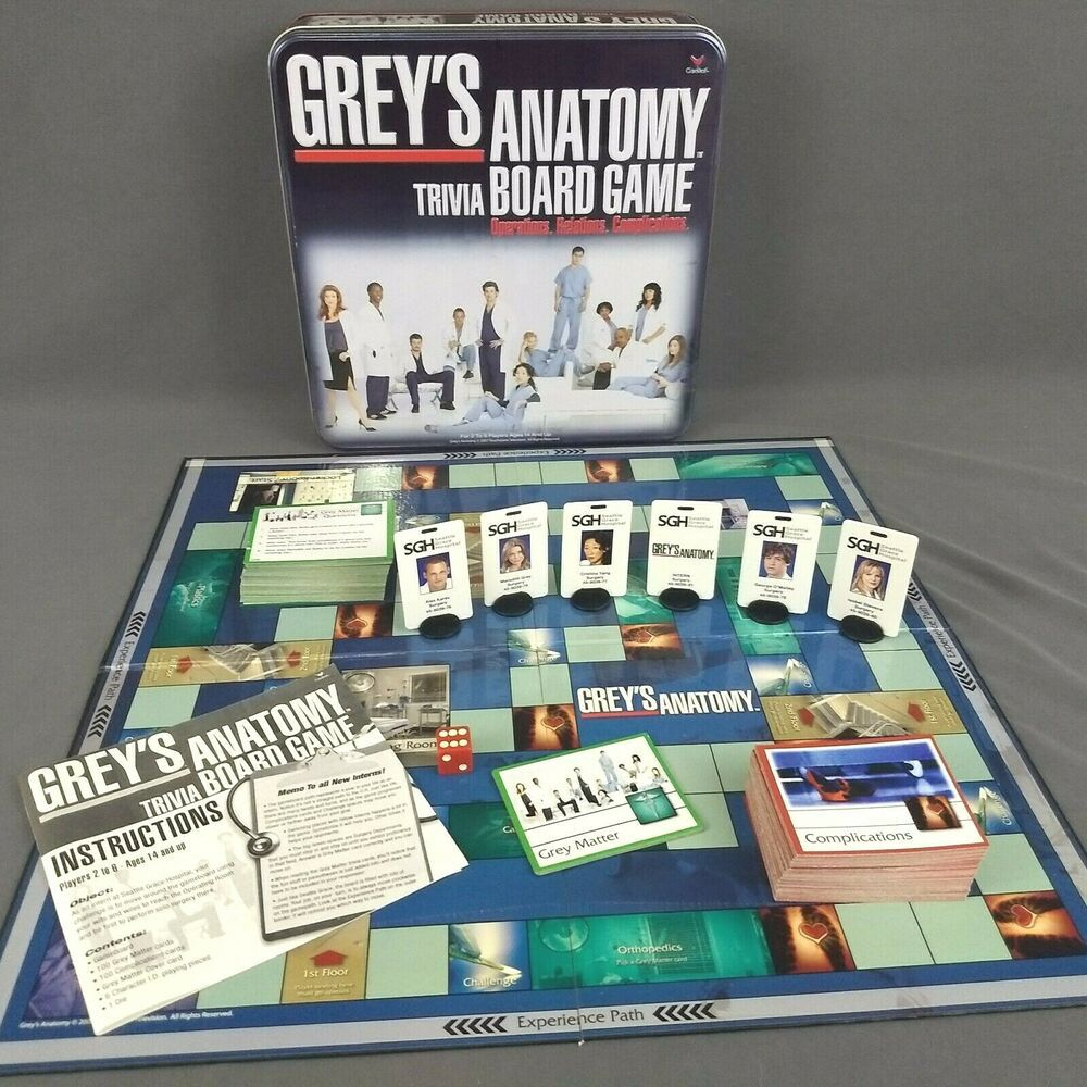 Get Grey's Anatomy Trivia Board Game PNG