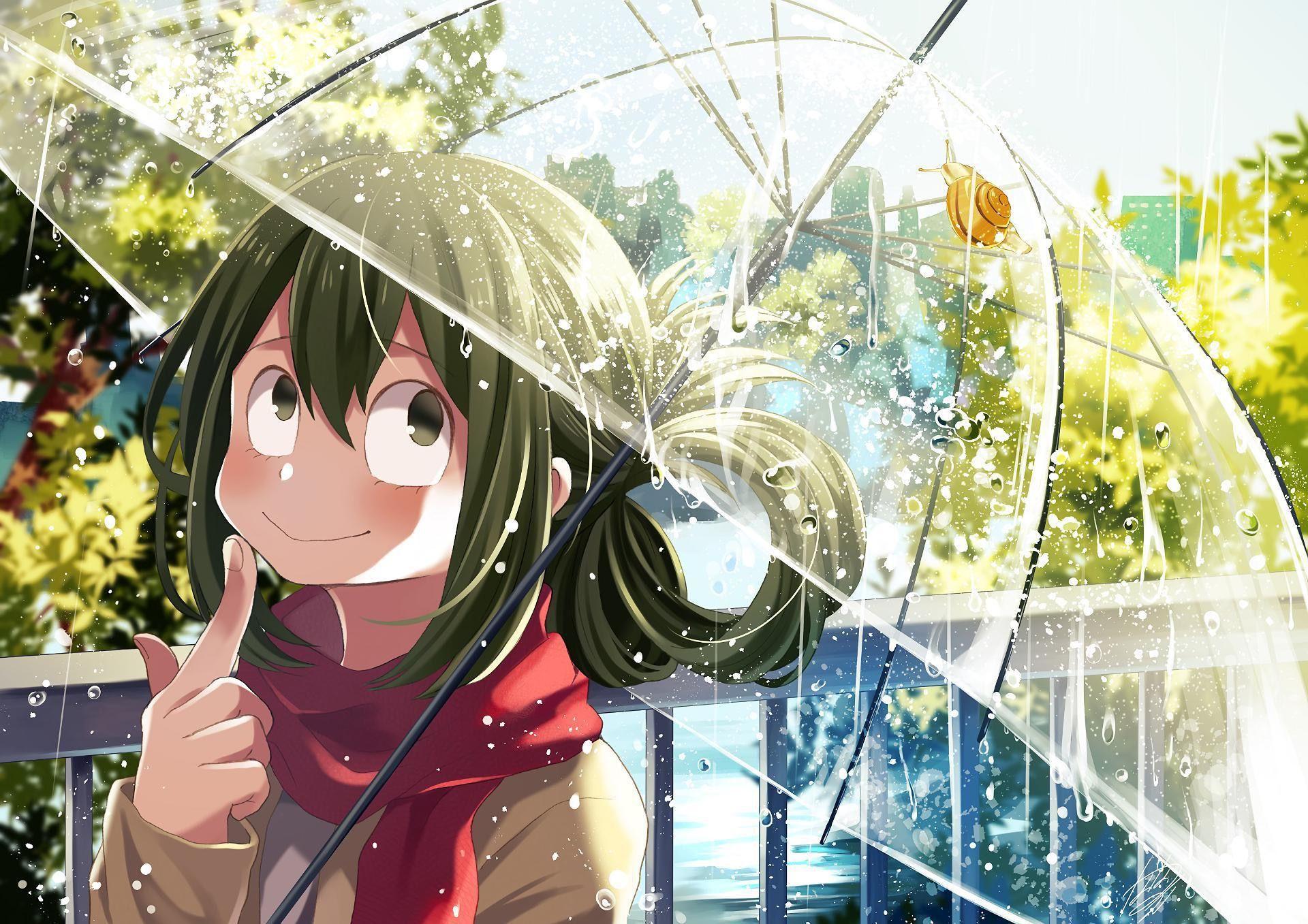 Asui Tsuyu HD Wallpaper | My hero academia tsuyu, Artistic ...