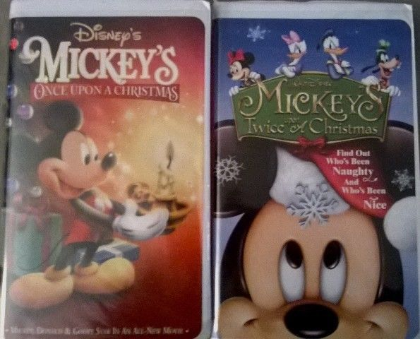 Disney's Mickey's Once Upon A Christmas and Mickey's Twice Upon A ...